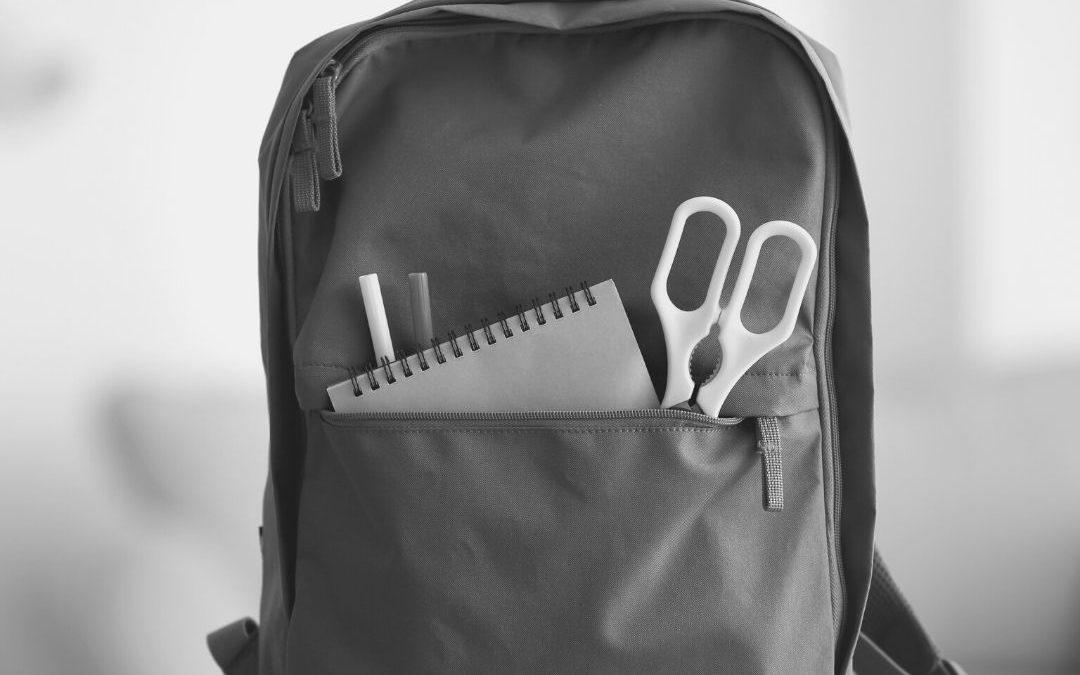 La motxilla escolar i el mal d'esquena